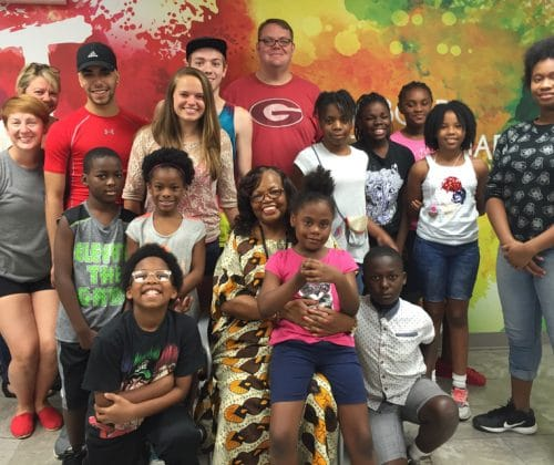 Freedom Singer Rutha Harris Visits Boys & Girls Clubs of Albany