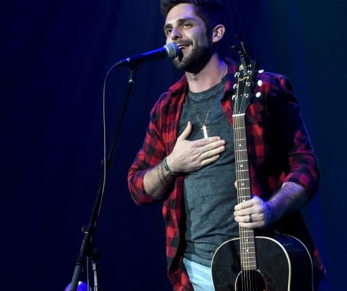 Thomas Rhett Performs Latest Hits at Georgia On My Mind 2017