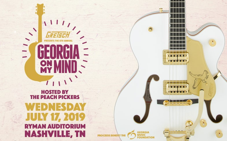 Georgia On My Mind Wed July 17