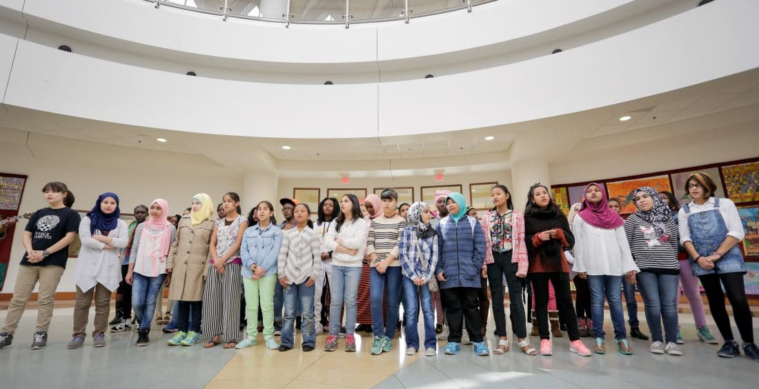 Global Village Project Chorus at Tubman Museum