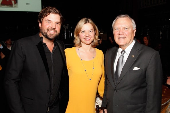 Dallas Davidson and Lisa Love with Governor Nathan Deal
