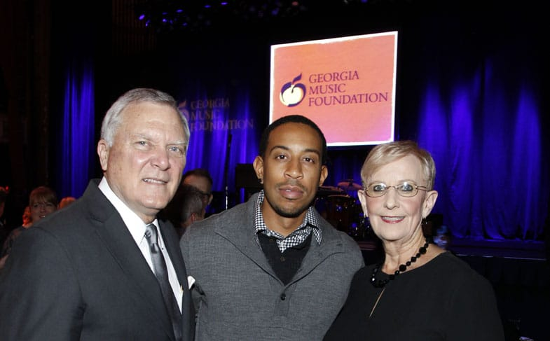 Governor and First Lady Deal with Ludacris