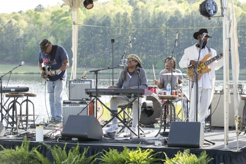 Lola Gulley Band performs blues and soul at Georgia Music Foundation benefit concert presented by Gretsch.