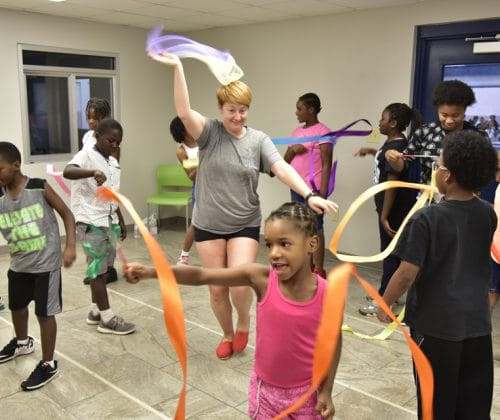 Campers Enjoy Music & Arts Integration at Boys & Girls Clubs of Albany