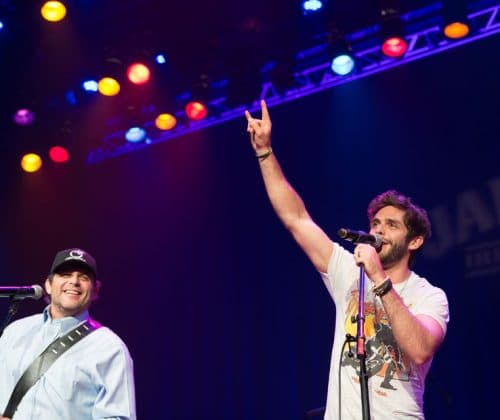 Father and Son Share the Stage at the Ryman
